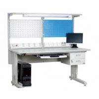 China 1830*900 Table Support Antistatic Cleanroom Bench With Drawer wholesale