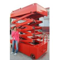 self-propelled electric lift table