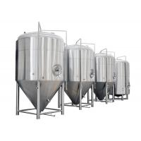 Quality Color Mirror Polish / Steel Small Conical Fermenter For Beer Brewing Kits for sale