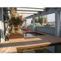 Quality Anti - UV Hollow WPC Garden Decking Corrosion Resistance Convenient Processing for sale