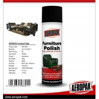 China AEROPAK 500ml Long Lasting Shine Furniture Polish Spray for Furniture Cleans&Protects wholesale