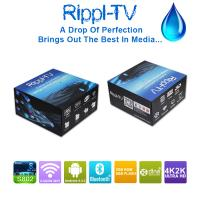 Quality Rippl-TV Android Smart TV Box Quad Core UtilOS Special Edition XBMC 4K2K Internet Media Player for sale