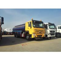 China Horsepower 371Hp Engine Oil Tank Truck , Oil Tanker Trailer 40m³ / H Pump Flow wholesale