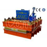 China Rubber Conveyor Belt Splicing Hydraulic Vulcanizing Machine Small Volume For Material Cement wholesale