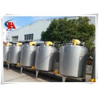 Buy cheap 400L Stainless Steel Tanks SquareHigh Shear Emulsifying Tank In Production Line from wholesalers