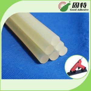 China Light White Transparent Semi-Transparent Hot Melt Glue Stick EVA Hot Melt Adhesive Stick For Bonding Paper And craftwook on sale