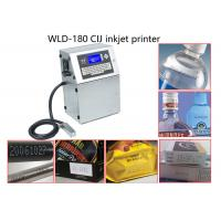 China High Efficiency Beverage Continuous Inkjet Printer For Batch Coding / Label Coding wholesale