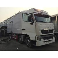 Quality 20 tons And -19 °C Ice Box Truck 8x4 With Euro II Emission Standard for sale