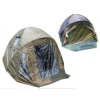 China Dome overwrap Waterproof Carp Fishing Tent With ground pegs & PE groundsheet wholesale