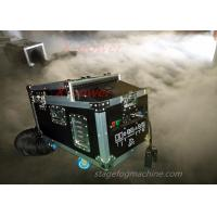 China 1200 Watt Water Haze Machine Dry Ice Stage Fog Machine ThicK Fog Machine With Flight Case X-DI wholesale