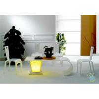 China FU (4) clear acrylic wood bar furniture wholesale