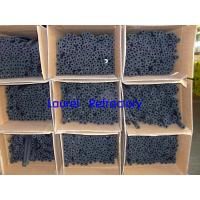 China Black Plastic Rubber Foam Insulation Tubes For Air Duct And Hot Water Pipeline wholesale