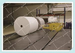 China Chaint Fabric Roll Packing Machine Metal Material With Conveying / Wrapping on sale