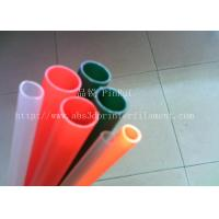 China Colorful PP Hard Plastic Tubes / Pipe / Hose 3mm 4mm 5mm 6mm 7mm wholesale