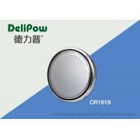 China Alkaline CR1616 3V Lithium Button Cell Battery For Electronics Toys on sale