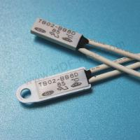 China TB02-BB8D tube motor Thermal Protector, Temerature Switch For tube motor 12*5.4*2.mm on sale