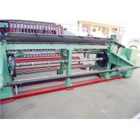 China Double  Twisted Gabion Mesh Machine , Hexagonal Wire Mesh Machine For Feed Fence wholesale