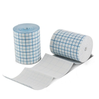 China PU or spun-laced non woven fabric material adhesive dressing roll wholesale