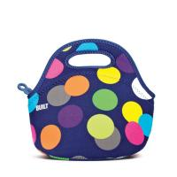 China Insulated Neoprene Lunch Tote Bag Waterproof Neoprene Lunch Cooler bag Neoprene Lunch bag for food.Size:30cm*30cm*16cm wholesale
