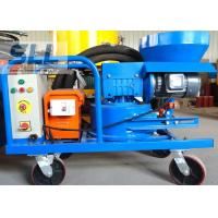 China Compact Structure Cement Spraying Equipment , Spray Plaster Machine With Control Box wholesale