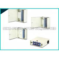 China LC Duplex Optical Fiber Distribution Box Metal Drawer Style 420×425×100 on sale