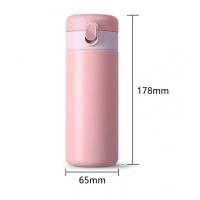 China 0.32L Leakproof 11 Ounce Thermos Flask Coffee Cup wholesale