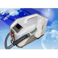 China Black Portable Q-switched Laser Equipment for Birth Mark Removal / Eyeline - cleaning on sale
