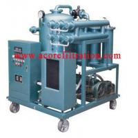 China VLF Waste Industrial Lubricating Oil Filtration Cleaning Machine wholesale