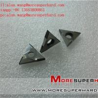 Quality PCD Inserts Diamond Cutting Tool PCD Cutting Insert alan.wang@moresuperhard.com for sale