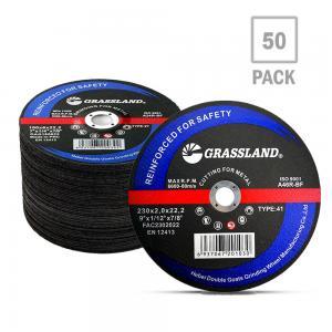"China Grassland 230mm 9"" X 1/8 X 7/8"" Abrasive Cutoff Wheel For Grinder wholesale"
