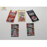 China Exotic Carts Hologram Packaging Custom Ziplock Bags Customized Printing Moisture Proof wholesale