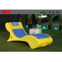 China Leisure Led Outdoor Chaise Lounge Chairs With Rechargeable Lithium Battery wholesale