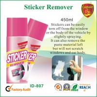 China Industrial Cleaning Supply , Car Window / Paste Sticker Remover Spray 450ml wholesale
