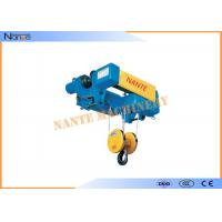 China SHA-XD Electric Wire Rope Monorail Hoist Trolley I Beam Workstation Steel on sale