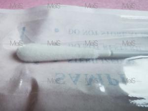 China Nasopharyngeal Sterile 15CM Nylon Flocked Nasal Swab wholesale