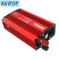 China Solar 800w Car Power Inverter Red Colour Auto Power Inverter With USB 5v 1A wholesale