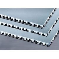 China Aluminum Roofing Panels 6mm, 10mm, 15mm, 20mm, 25mm Honeycomb Metal Core Light Weight on sale