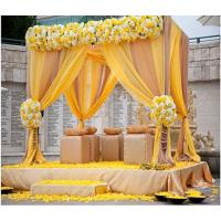 China Wedding hall decorations tents backdrop stand wedding Pipe Drape Kits For Sale on sale