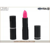 China Glitter Makeup Forever Nude Lipstick , Mineral Ingredient Long Last Lipstick wholesale