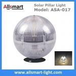 China Solar Post Column lights Solar Fence Light Solar Ball Light Top Pillar Outdoor Lighting for Landscaping Decoration wholesale
