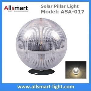 Buy cheap Solar Post Column lights Solar Fence Light Solar Ball Light Top Pillar Outdoor Lighting for Landscaping Decoration from wholesalers