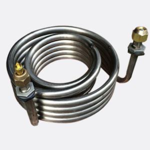 China Aquarium Evaporator Titanium Tube 6000KW Coil Heat Exchanger wholesale