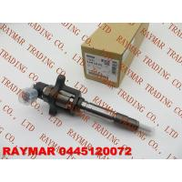 Buy cheap BOSCH Genuine common rail fuel injector assy 0445120072 for MITSUBISHI Canter 4M50 ME225416 from wholesalers