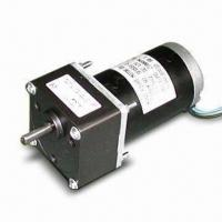 China 12V to 220V Super Quiet DC Geared/Spur Motor with 70.5mm Diameter and 1/3 to 1/180 Ratio wholesale