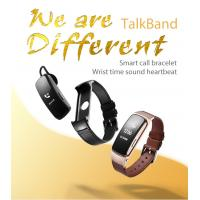 China Smart Movement Bracelet With Talk Phone / Heart Rate And Blood Pressure Function wholesale