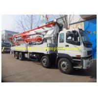 China ISO Concrete Pump Lorry with ISUZU chassis 47m , truck mounted pump wholesale