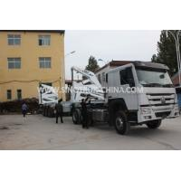 China 3 Axle Container Semi Trailer With 37 Tons XCMG Side Lifter And JOST Support Leg wholesale