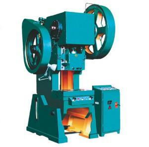 China Mechanical Power Press Machine Stamping Window Shade J23 Series on sale
