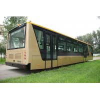Buy cheap Low Carbon Alloy Steel 51 Passenger Airport Apron Bus , 4 Strok Diesel Engine from wholesalers