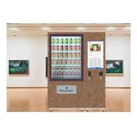 Buy cheap Fruit Salad Vending Machine , Elevator Vending Machine Refrigerator Custom from wholesalers